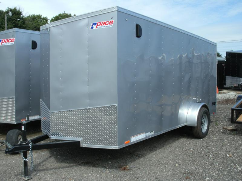 2020 Pace American Journey 6 Wide Single Axle Cargo / Enclosed Trailer