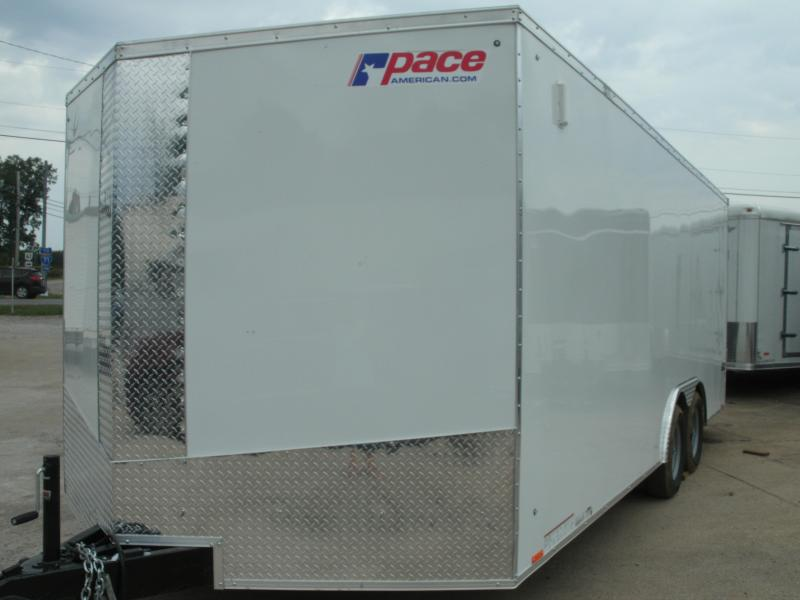 2020 Pace American Journey Se Cargo 10000 Gvw Cargo / Enclosed Trailer
