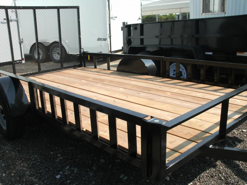 2020 American Manufacturing Operations (AMO) 6x14UT Utility Trailer