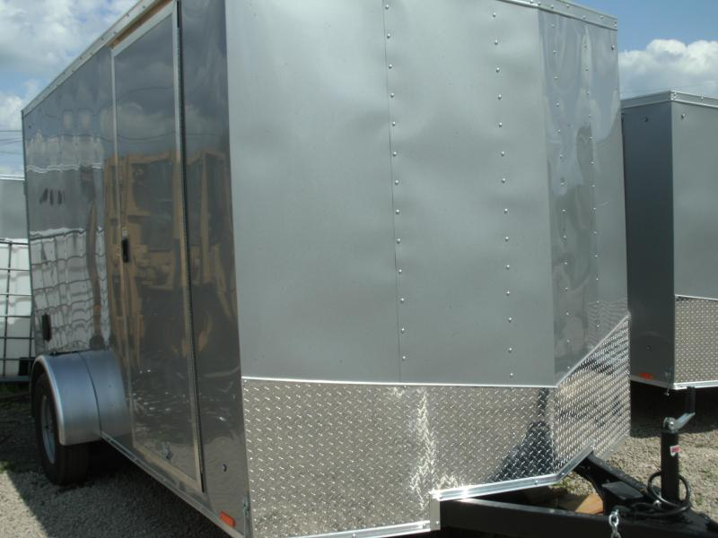 2020 Pace American Journey 7 Wide Single Axle Cargo / Enclosed Trailer