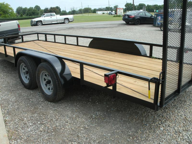 2020 American Manufacturing Operations (AMO) 6 X 20 UT TANDEM Utility Trailer