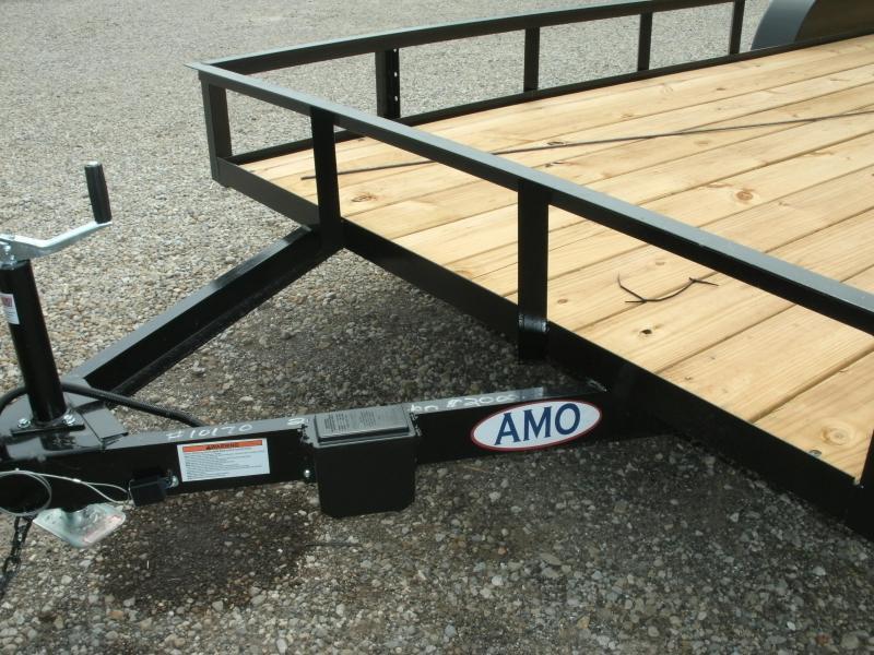 2020 American Manufacturing Operations (AMO) 6 X 20 UT TANDEM Utility Trailer