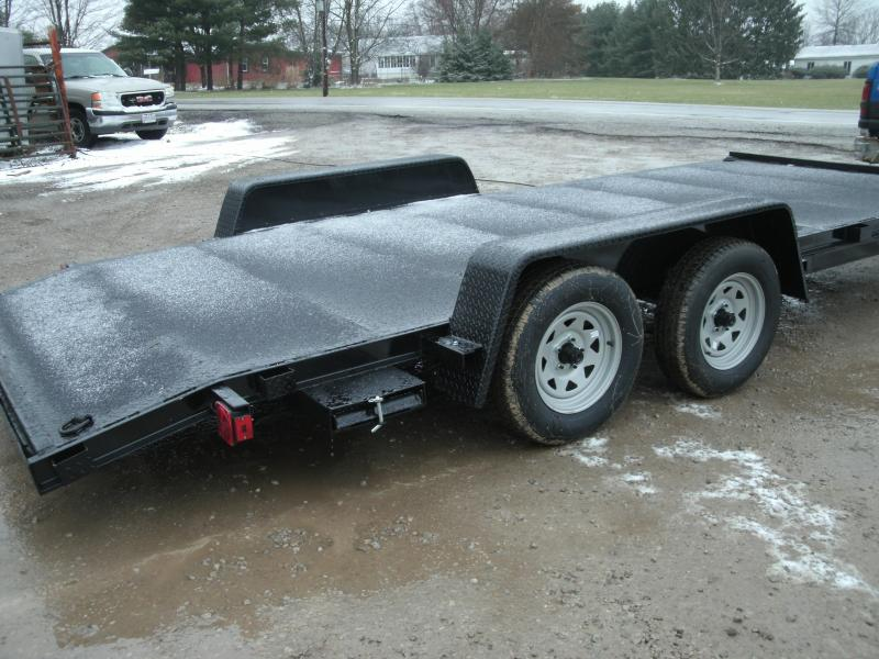2020 American Manufacturing Operations (AMO) FLATBED - 18' ALL STEEL DECK Flatbed Trailer