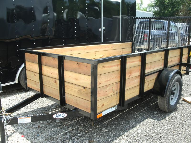 2019 American Manufacturing Operations (AMO) 5x8UT Utility Trailer