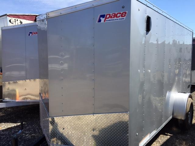 2020 Pace American Journey Cargo Flat Top Slope Nose Cargo / Enclosed Trailer