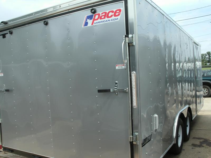2020 Pace American Journey Flat Top 7000# Gvw Car / Racing Trailer