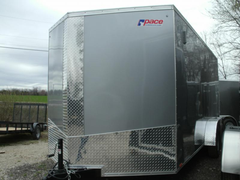 2021 Pace American Journey Se Cargo Flat Top Cargo / Enclosed Trailer