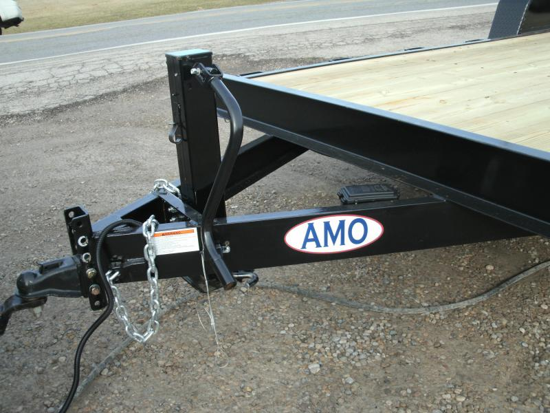 2020 American Manufacturing Operations (AMO) 16 EQ- 12K Equipment Trailer