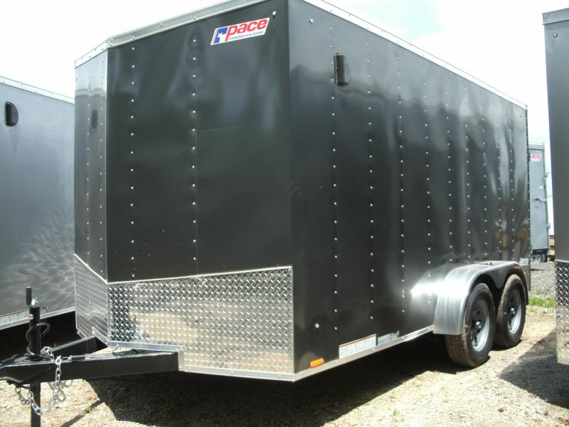 2020 Pace American Journey 7 Wide Tandem Cargo / Enclosed Trailer