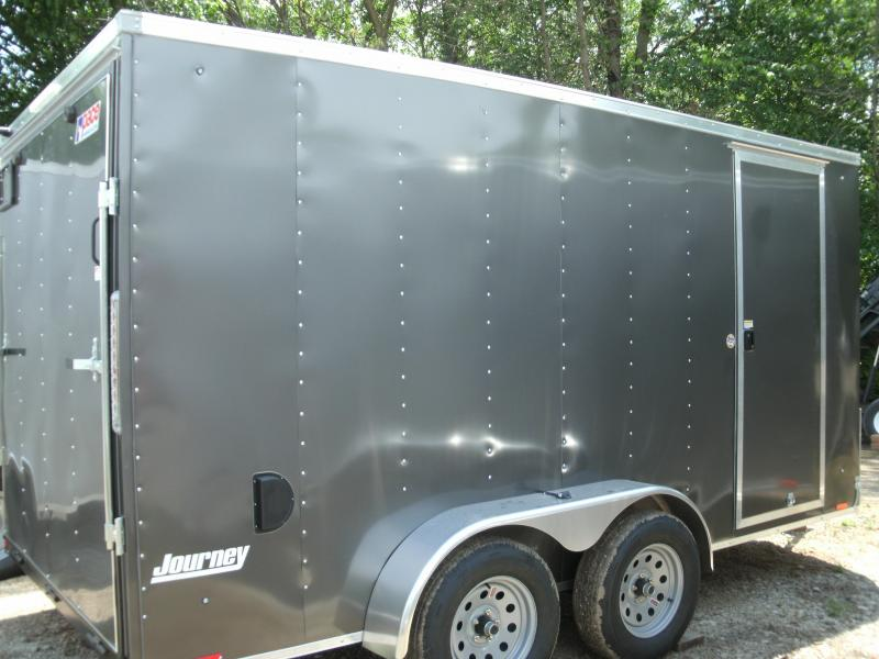 2021 Pace American Journey 7 Wide Tandem Cargo / Enclosed Trailer