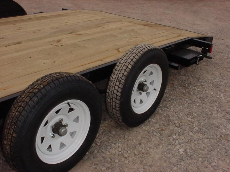 2020 American Manufacturing Operations (AMO) 16 FLATBED Flatbed Trailer