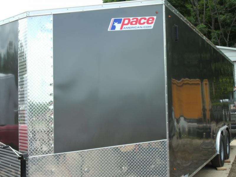2021 Pace American Journey Cargo Se 10k Gvw Cargo / Enclosed Trailer