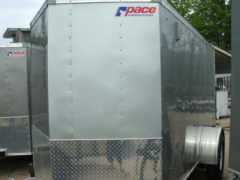 2020 Pace American PSCBA5.0X08S12FF Enclosed Cargo Trailer