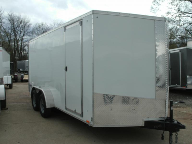 2020 Cargo Express Xlw Se 7' Wide Cargo Flat Top Cargo / Enclosed Trailer