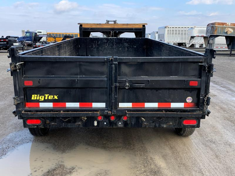 2018 Big-tex 16' Tri-axle Dump Trailer