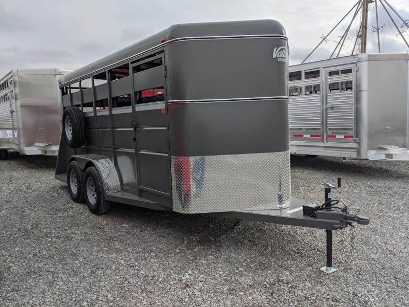 2019 Valley 16' Steel Livestock Trl