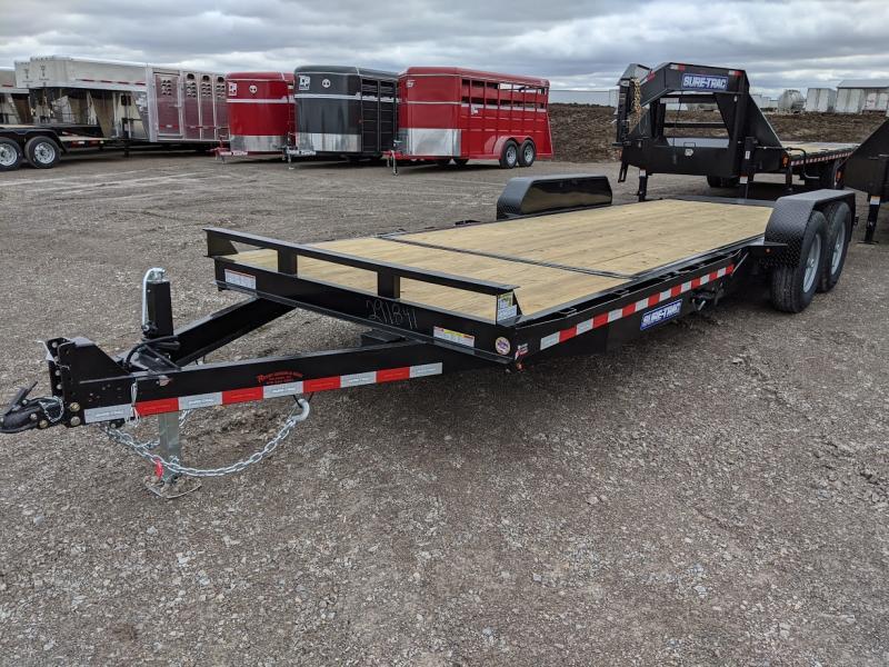 2020 Sure Trac 7x18+4 Tilt Bed Equip 14k