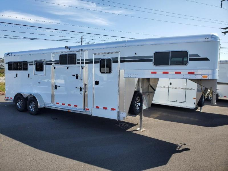 2021 4-Star Trailers Runabout 2+1 Horse Trailer