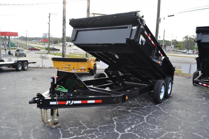 7x14 PJ | Low Pro | Dump Trailer