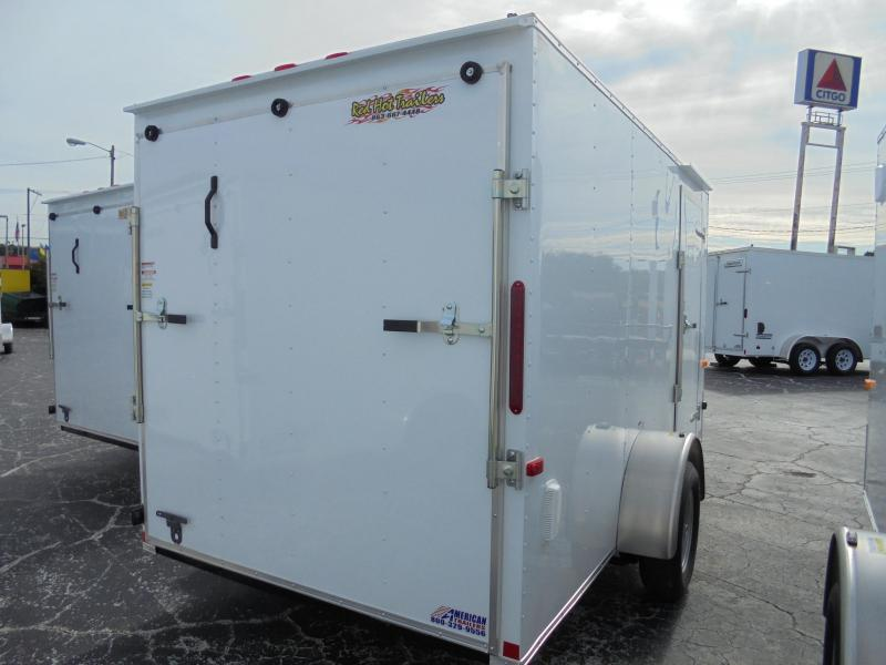 6x12 Red Hot Trailers | Enclosed Trailer