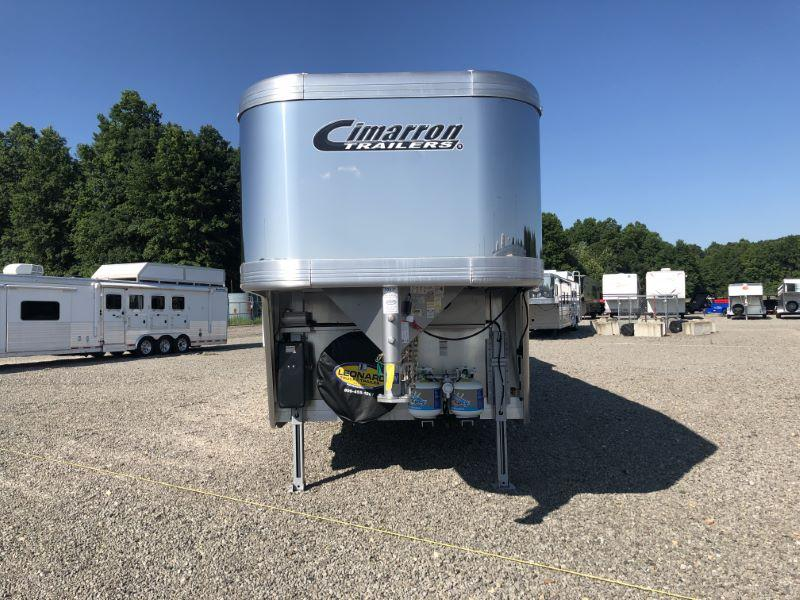 2020 Cimarron Trailers NS413.6LQSL-SL Horse Trailer