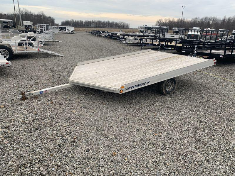 1999 FEATHERLITE BUMPER PULL ATV/SNOWMOBILE TRAILER