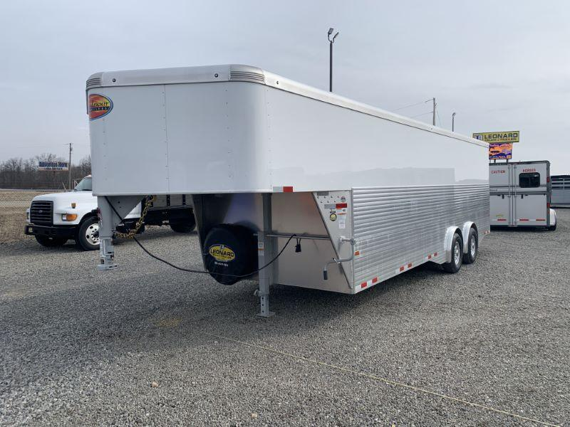 2021 8 X 24 SUNDOWNER BUMPER PULL CARGO ENCLOSED TRAILER
