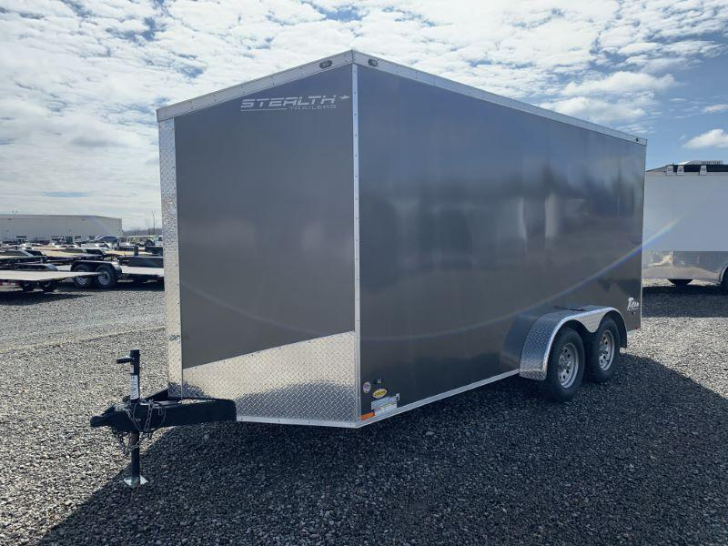 2017 16' STEALTH BUMPER PULL ENCLOSED CARGO TRAILER