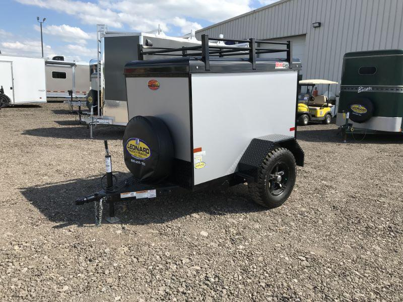 2020 4X6 SUNDOWNER BUMPER PULL ENCLOSED CARGO TRAILER
