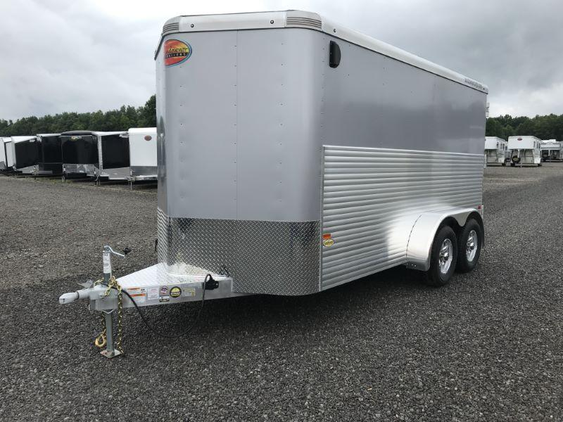 2020 7X16 SUNDOWNER BUMPER PULL ENCLOSED CARGO TRAILER