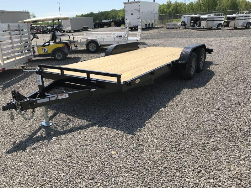 2021 18' TRAILER MANUFACTURES OF TOLEDO BUMPER PULL CAR TRAILER