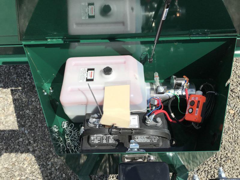 2019 7X12 BRI-MAR BUMPER PULL DUMP TRAILER