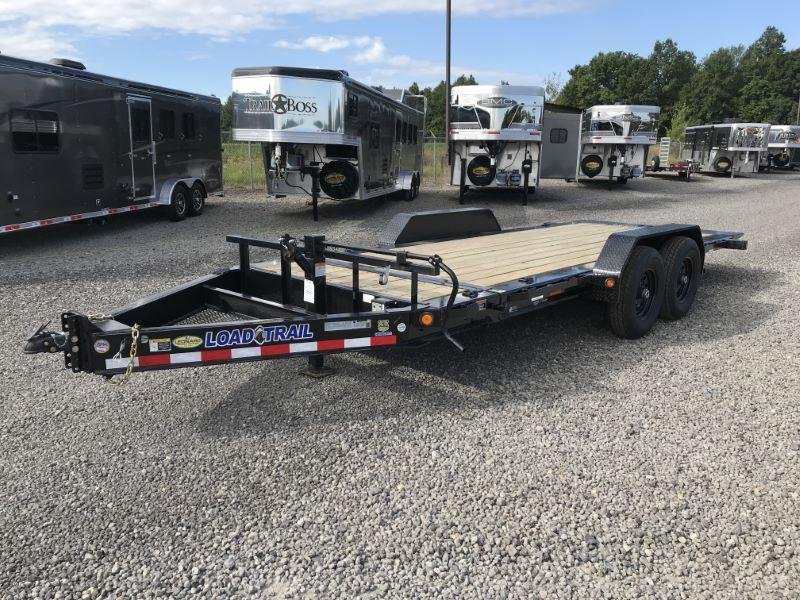 2019 7X22 LOAD TRAIL BUMPER PULL EQUIPMENT TRAILER