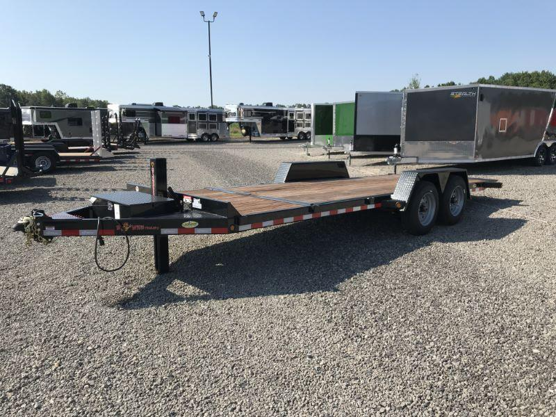 2020 7X22 BWISE BUMPER PULL EQUIPMENT TRAILER