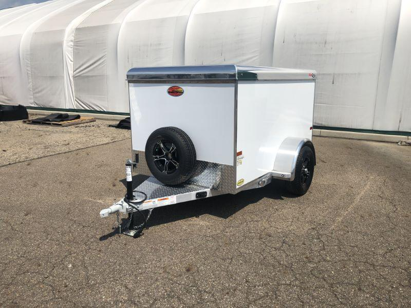 2020 5X8 SUNDOWNER BUMPER PULL ENCLOSED CARGO TRAILER