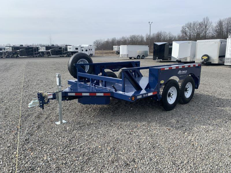 2020 10' AIR TOW BUMPER PULL EQUIPMENT TRAILER