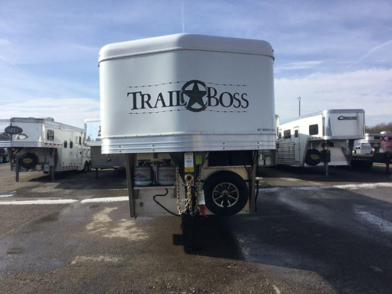 2019 Bison Trailers 7409TB Horse Trailer