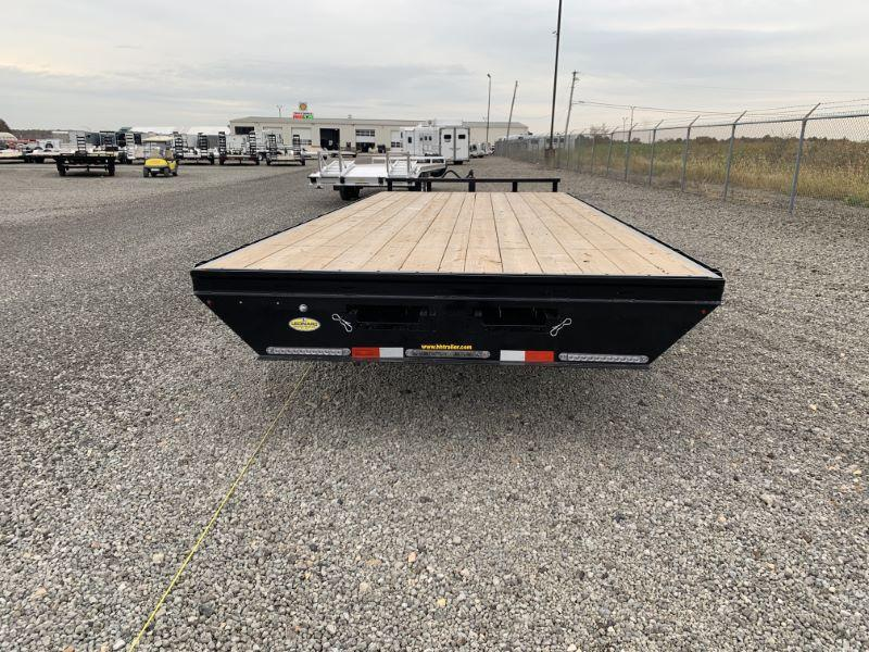 2020 8.5 X 20 H&H DECK OVER FLATBED TRAILER