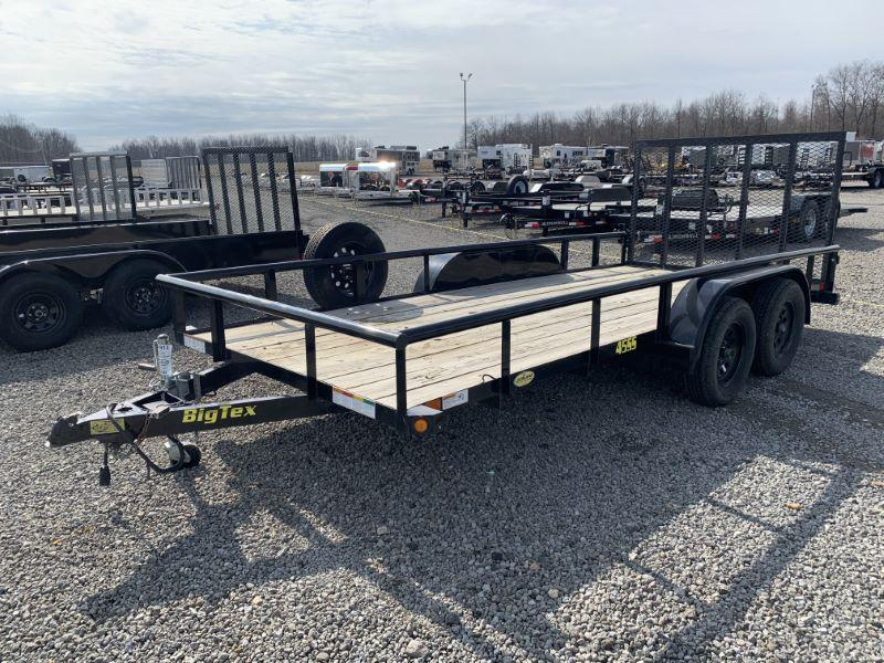 2018 6.4 X 16 BIG TEX BUMPER PULL OPEN UTILITY TRAILER
