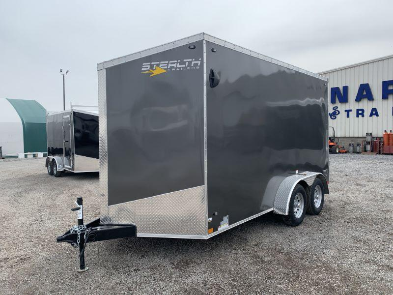 2020 7 X 14 STEALTH BUMPER PULL ENCLOSED CARGO TRAILER