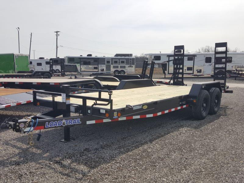2020 7 X 22 LOAD TRAIL BUMPER PULL EQUIPMENT TRAILER