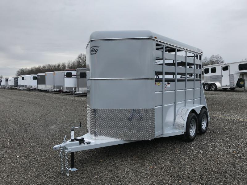 2020 2 HORSE VALLEY BUMPER PULL HORSE/STOCK TRAILER