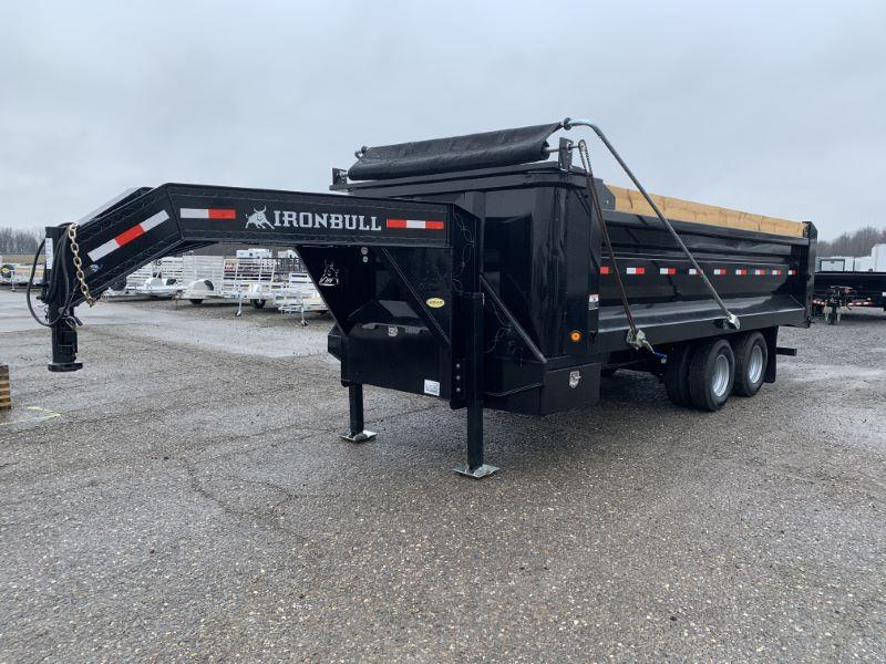 2020 20' NORSTAR DECK OVER DUMP TRAILER