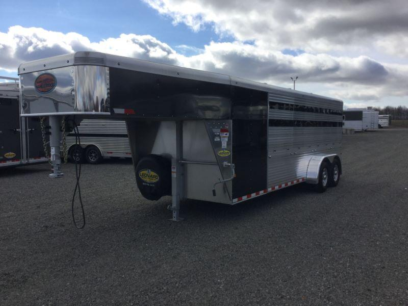 2020 7X20 SUNDOWNER GOOSENECK STOCK TRAILER