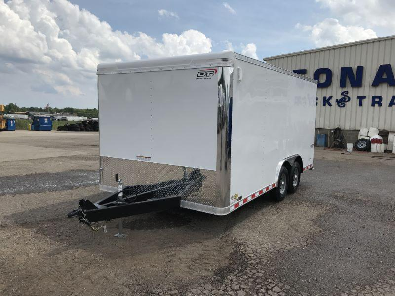 2020 8.5X16 BRAVO BUMPER PULL ENCLOSED CAR TRAILER