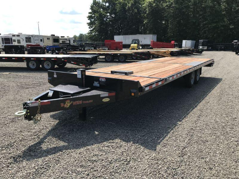 2020 8.5X26 BWISE BUMPER PULL EQUIPMENT TRAILER