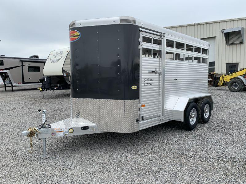 2021 14' SUNDOWNER BUMPER PULL STOCK TRAILER