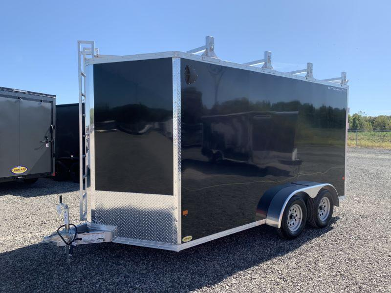 2020 7X14 STEALTH BUMPER PULL ENCLOSED CARGO TRAILER