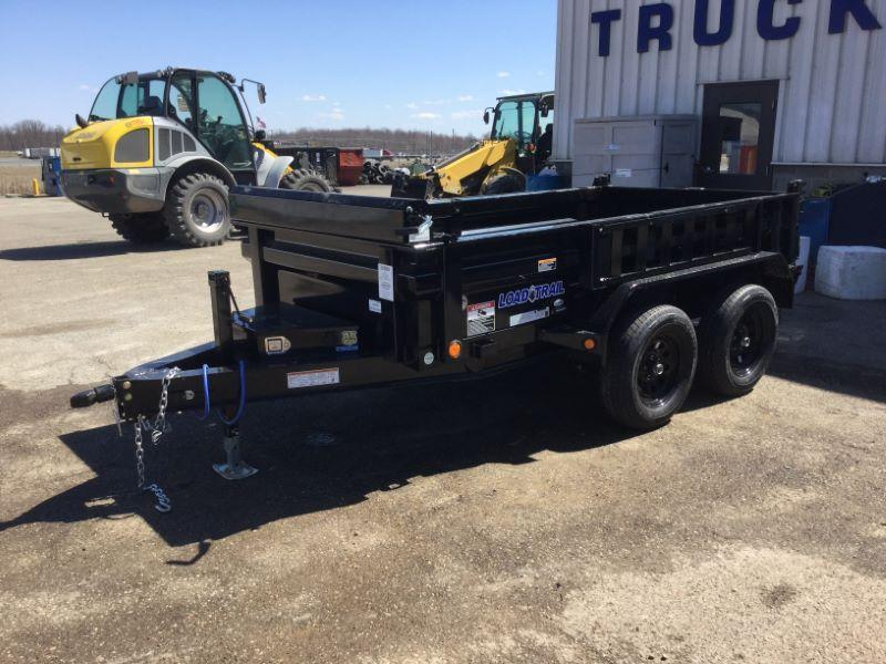 2020 5 X 10 LOAD TRAIL BUMPER PULL DUMP TRAILER