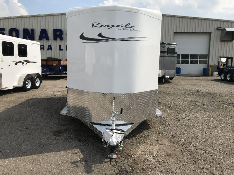 2020 Trails West Manufacturing RST20RP Horse Trailer
